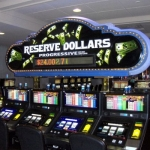Reserve Dollars Sign re-face
