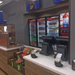 Concession Stand for Entertainment Center