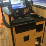 Custom Reception Kiosks