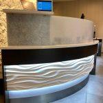 Custom Hotel Reception Desk