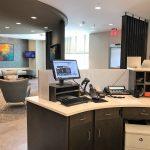 Hotel Reception Desk Cabinets