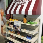Custom Food Shelf Exhibit