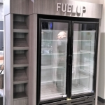 Fitness Center Retail Display