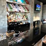 Alcohol Shelving in Bar