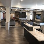 Student Housing Lobby Reception Desk
