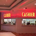 Casino Cashier Sign