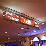 Casino Floor Directional Sign
