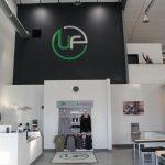 Custom Boutique Gym Retail Display