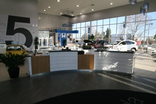 Automotive Cabinetry and Displays - Creative Surfaces