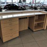 Car Dealership Reception Desk