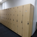 Custom Lockers for Automotive Dealer