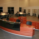 Automotive Dealership Reception Desk