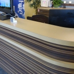 Custom Reception Desk
