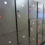 Custom Fitness Center Lockers