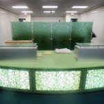 Custom Built Reception Desk