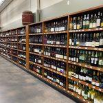 Custom Alcohol Bottle Shelving