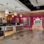 Custom Commercial Wine Cabinetry