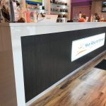 Year Round Brown Reception Desk