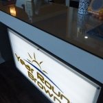 Custom Interior Commercial Sign