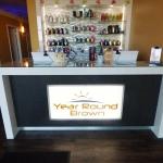 Custom Reception Desk & Credenza