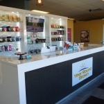 Custom Tanning Salon Cabinetry