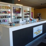 Tanning Salon Reception Desk