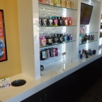 Tanning Salon Retail Display