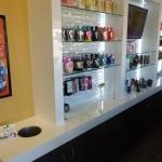 Tanning Salon Retail Display