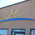Custom Commercial Building Sign