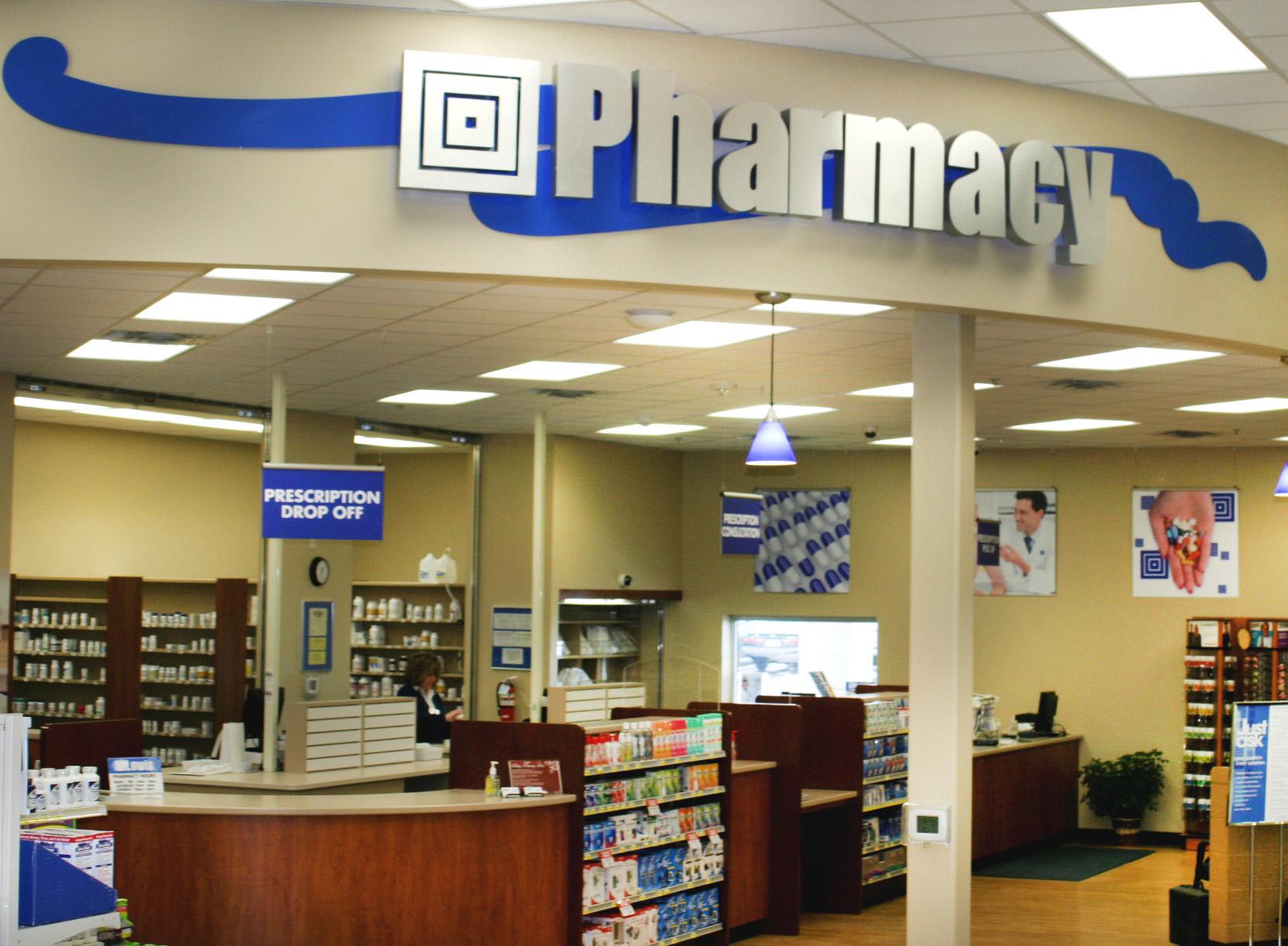 Custom Casework Fixtures For Lewis Drug Stores