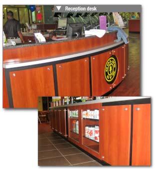 Fitness Centers Custom Millwork Amp Fixtures