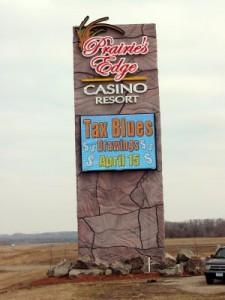 Exterior Casino Signs