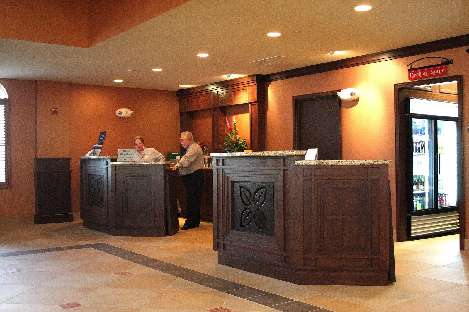 High end hotel millwork hilton garden inn granbury for High end hotels
