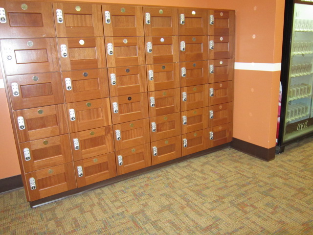 Stacked Lockers