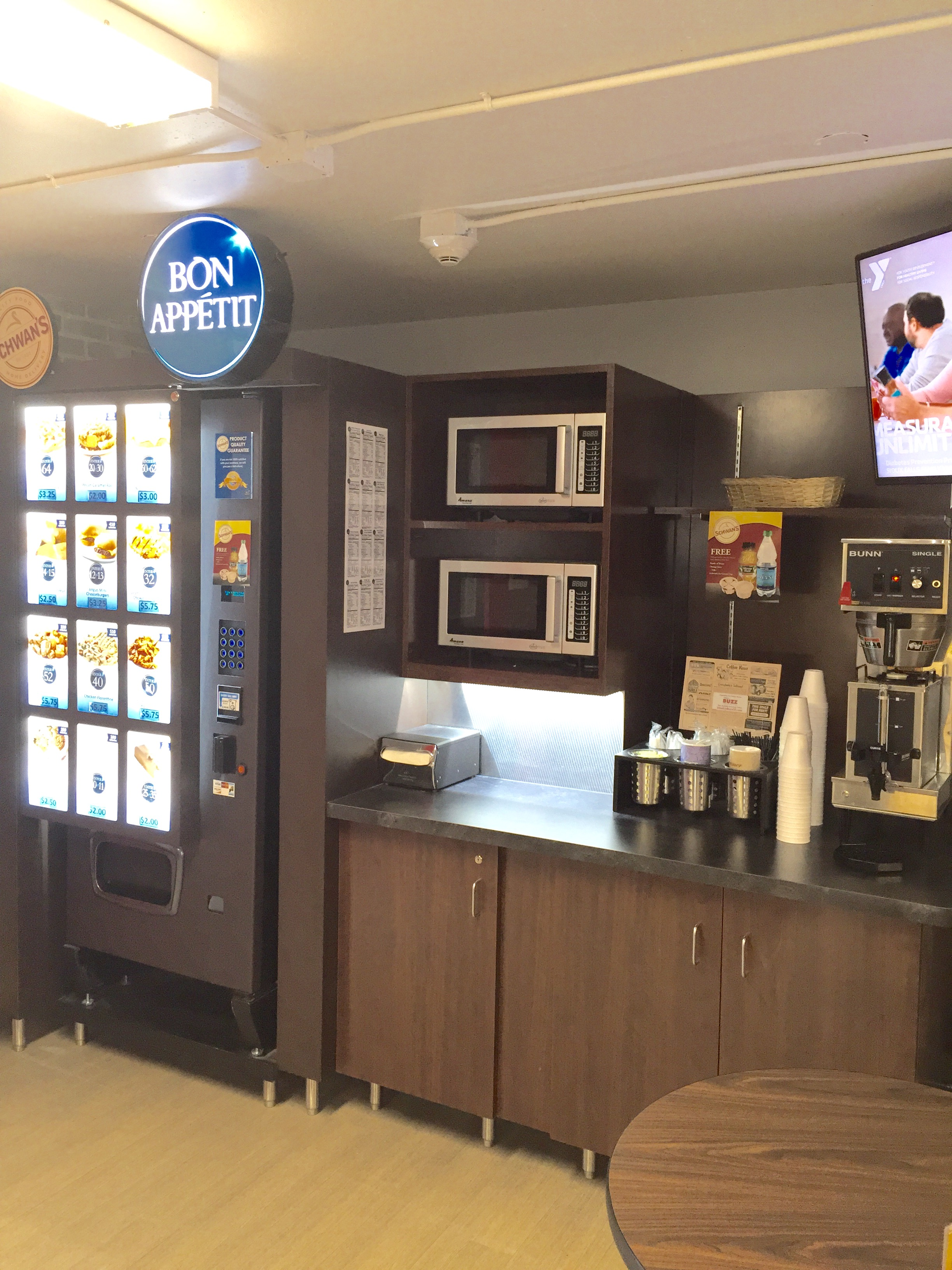 Schwan's® Vending Machine Kiosks