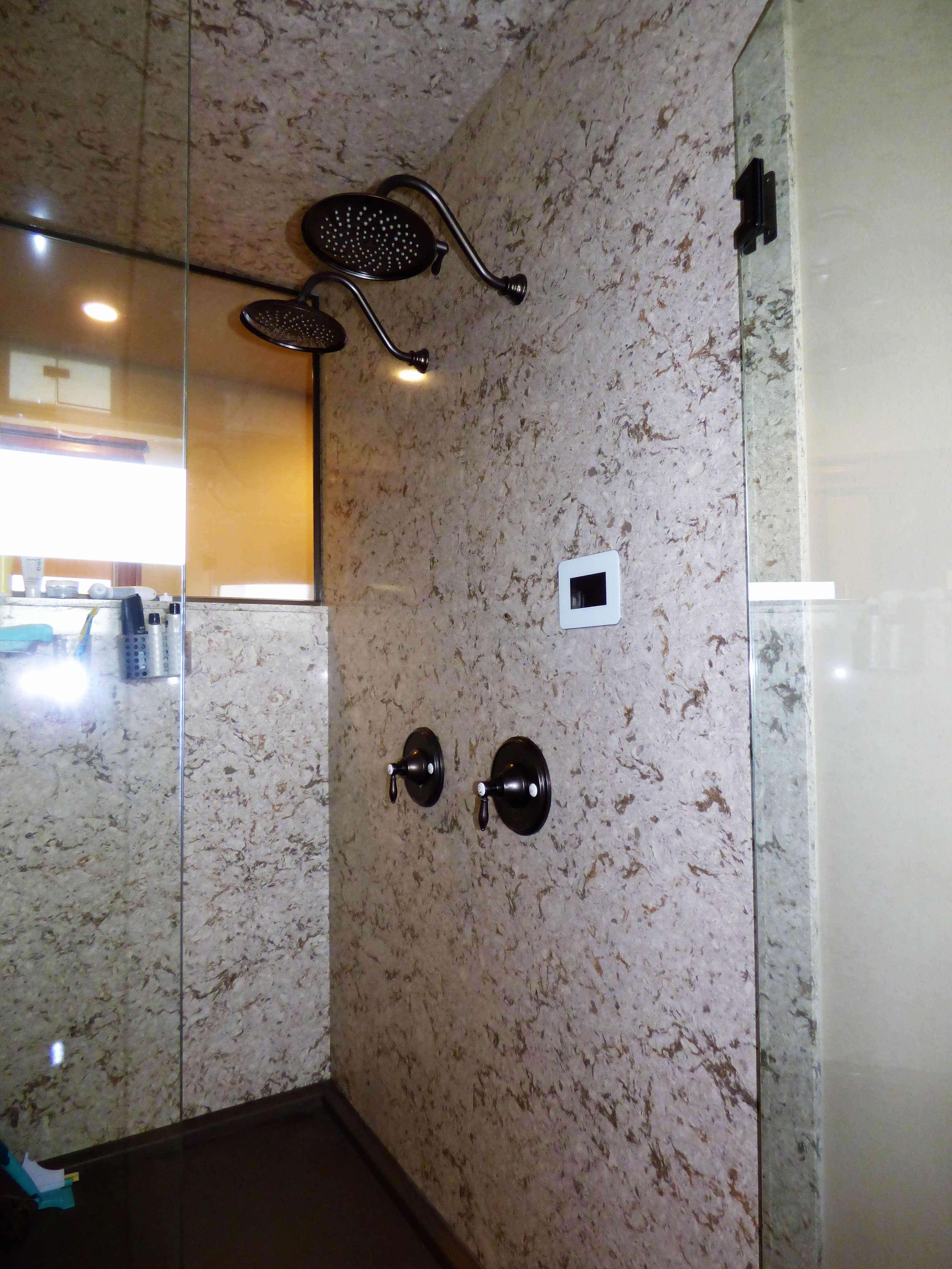 third budget price shower on walls basement pan preformed pvc the size and add a stock surround of are