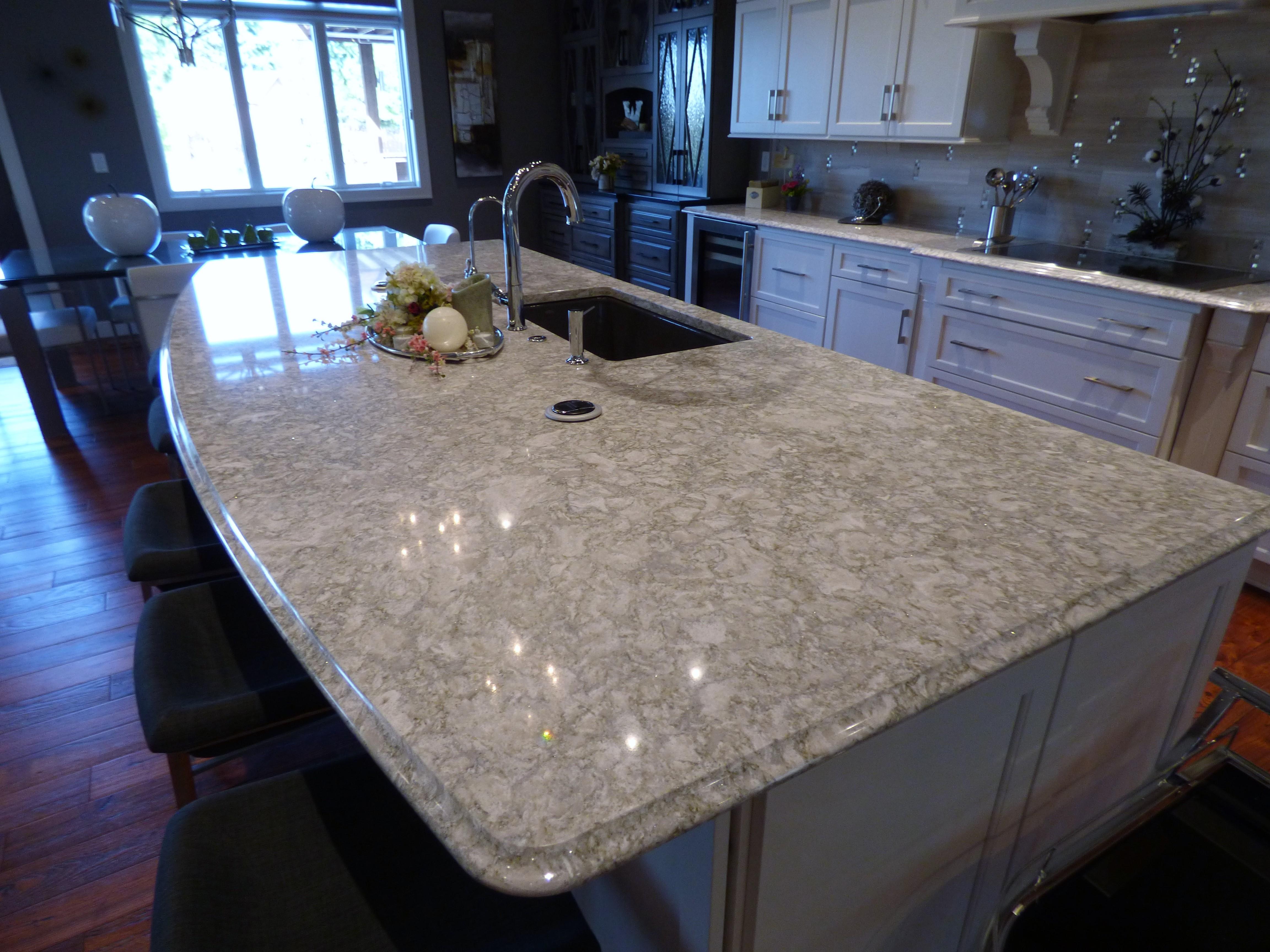 Countertop For Kitchen Island Cambria Berwyn Quartz Countertops Stone Center Sioux Falls