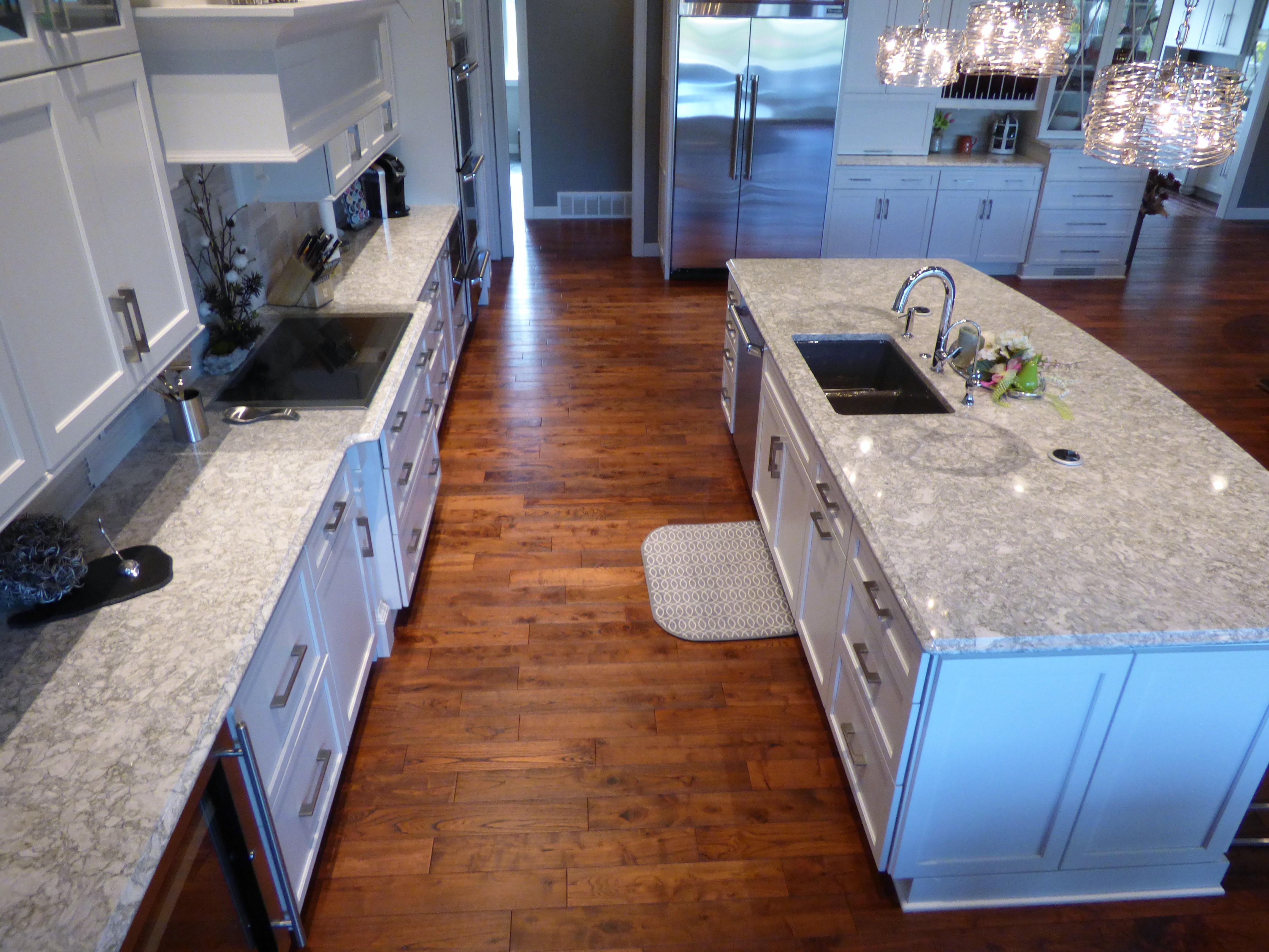 new kitchen sparkle pin countertop countertops quay white diamond quartz with of