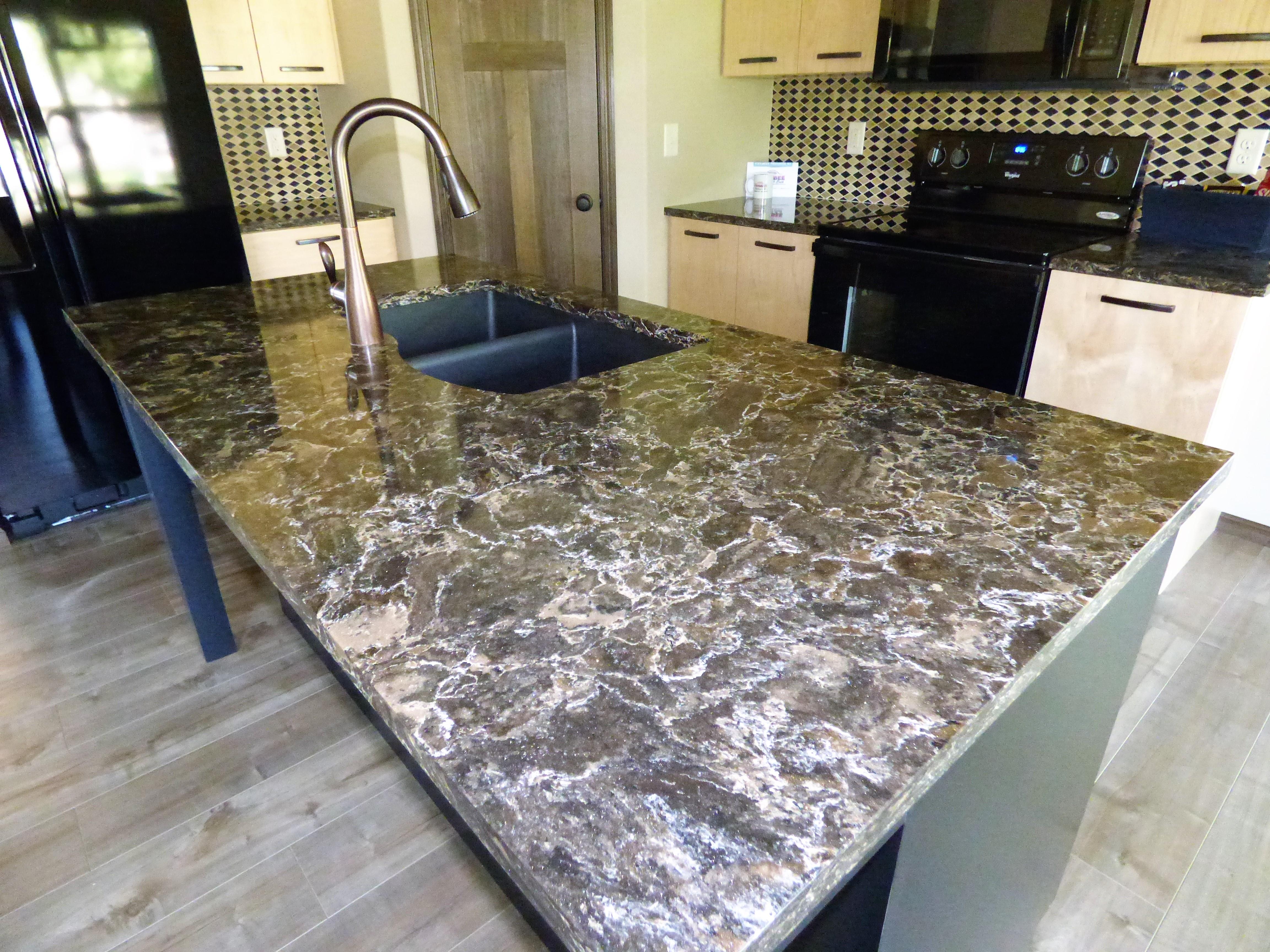 Cambria Laneshaw Kitchen Island Stone Center Sioux Falls