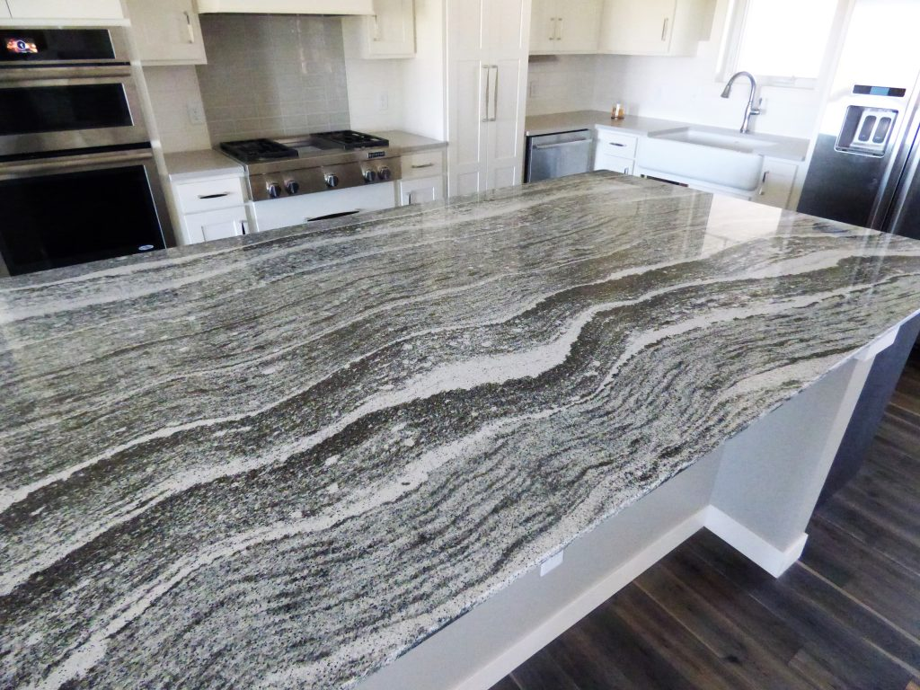 Wood Island Kitchen Cambria Roxwell Quartz Countertops Stone Center Sioux Falls