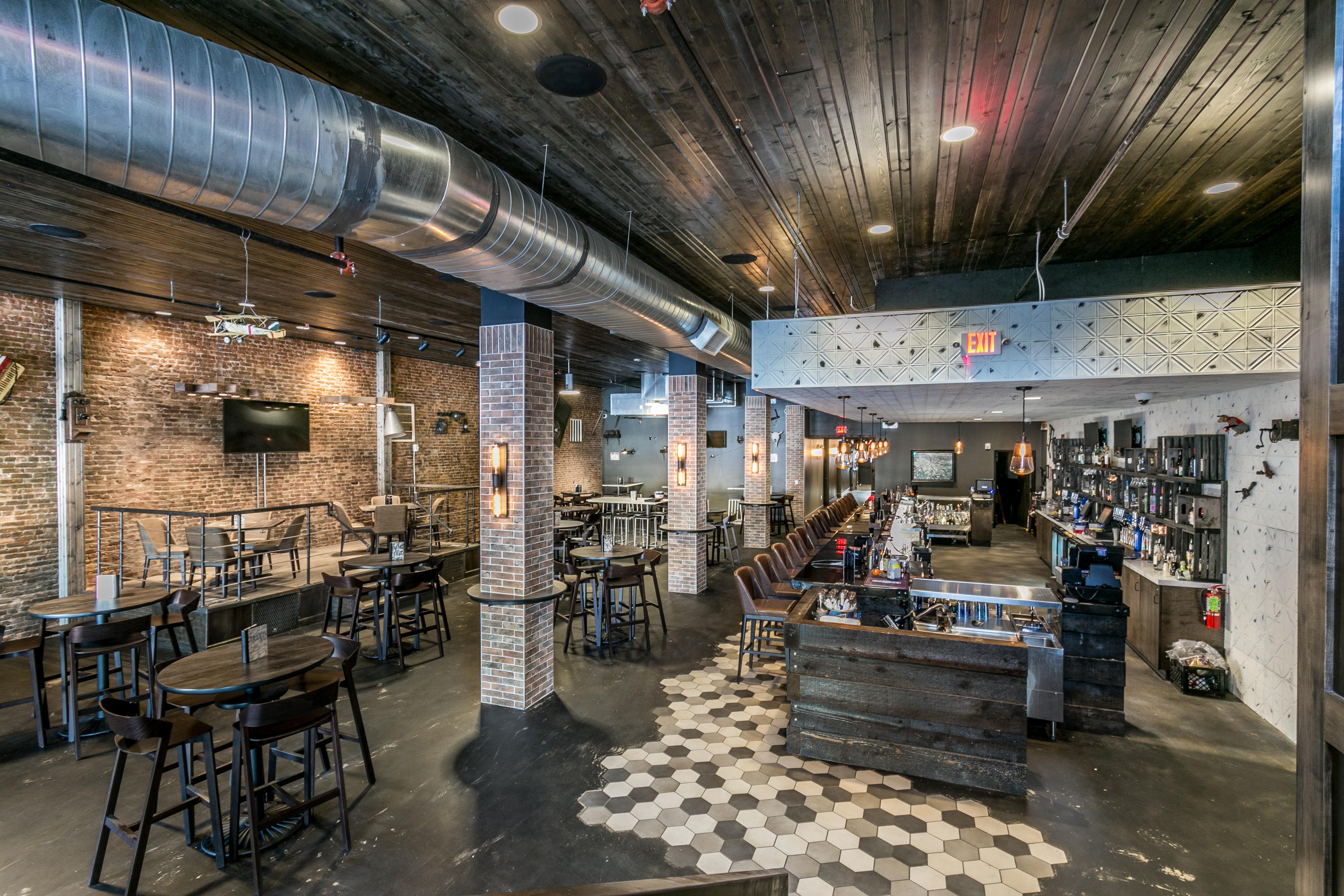 Custom Commercial Bar Countertops Creative Surfaces Inc