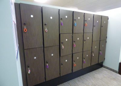 Double and Triple Stack Lockers
