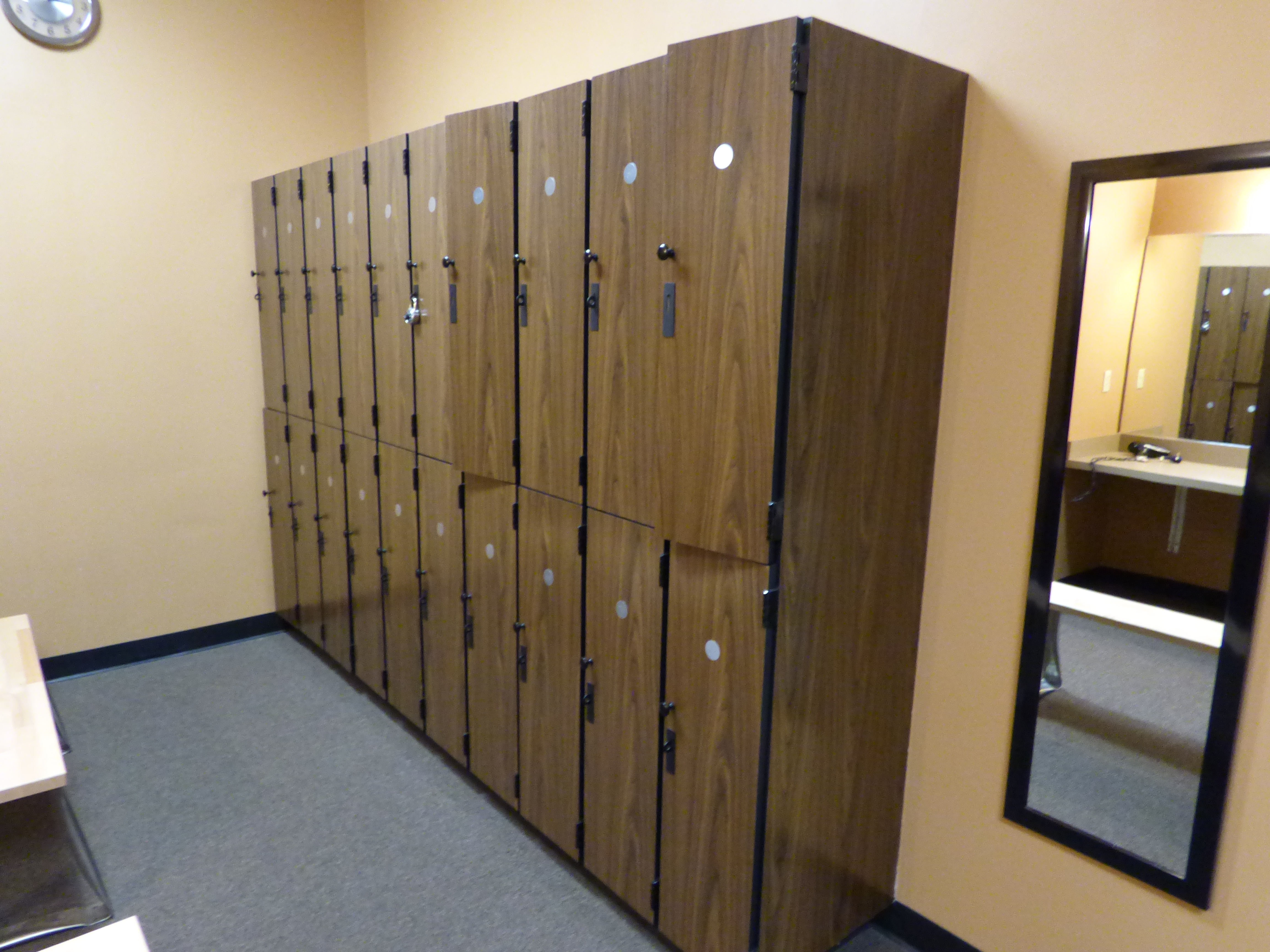 Custom commercial lockers creative surfaces inc