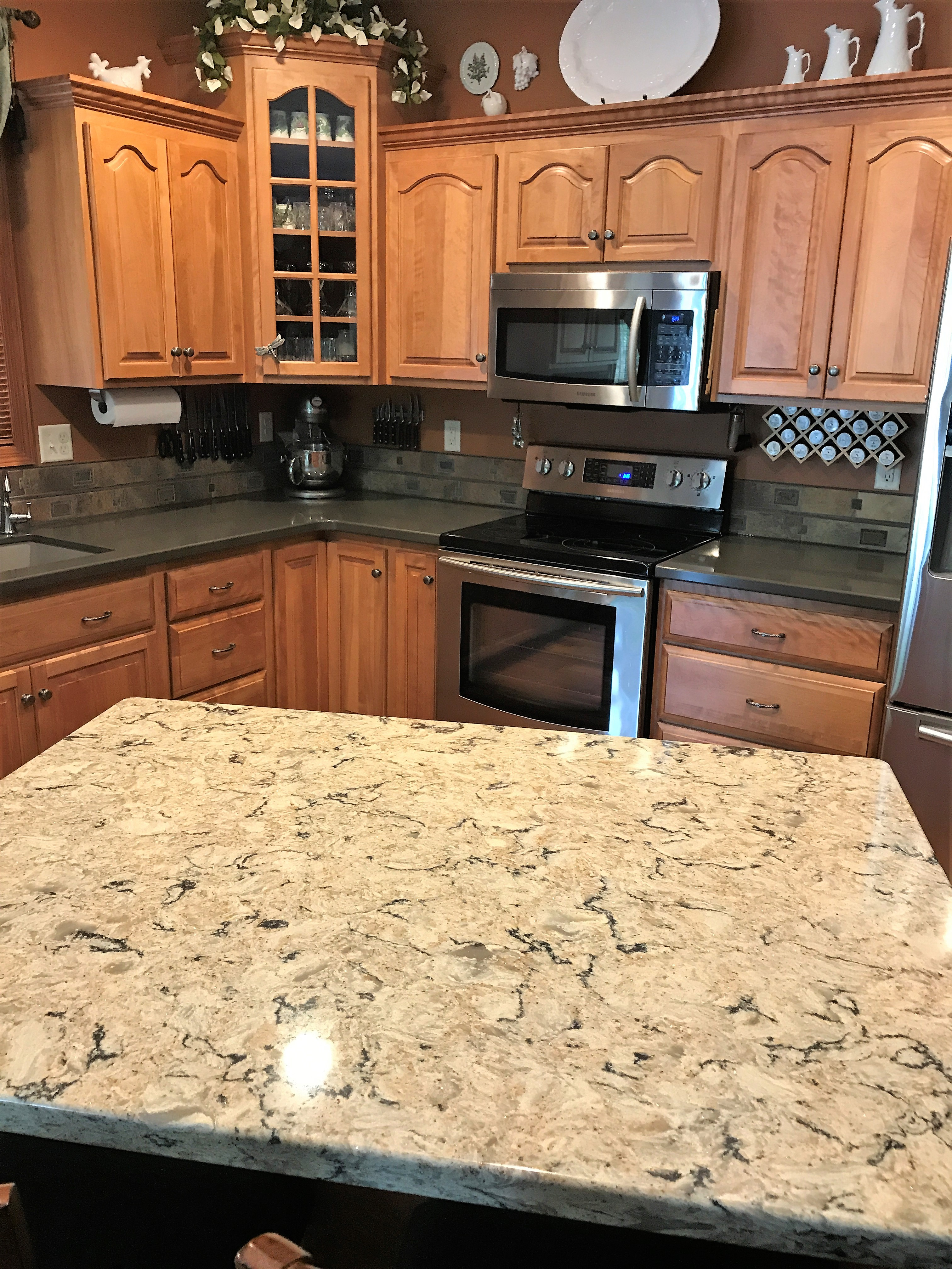 Cambria Bradshaw Quartz Countertops Stone Center Sioux