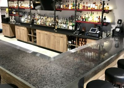 Commercial Cocktail Bar and Cabinets