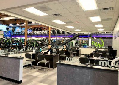 Custom Fitness Center Desk