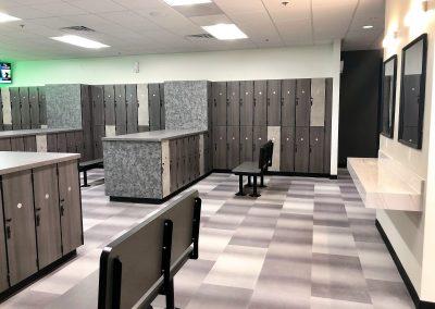 Locker Room at MUV Fitness