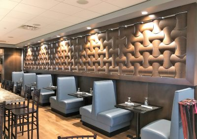 Feature Wall In Langford Lounge