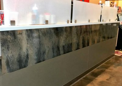 coffee shop cabinetry