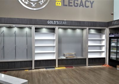 commercial fitness center lockers